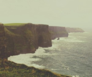 cliff, sea, and irlande image