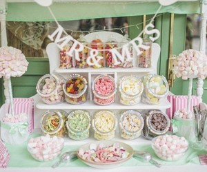 candy and wedding image