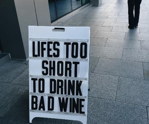 alternative, quotes, and wine image