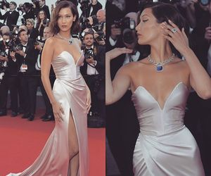 cannes, gown, and luxury image