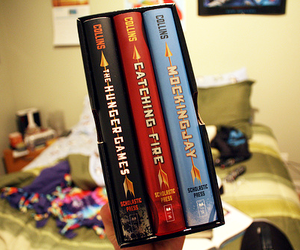 book, the hunger games, and photography image