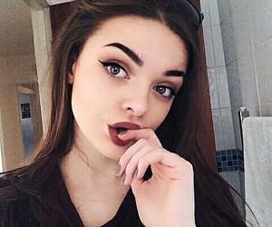 beauty, hair, and instagram girl image