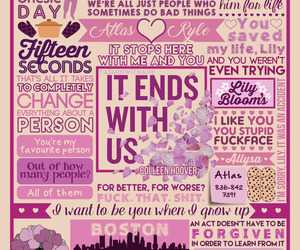 book, it ends with us, and colleen hoover image