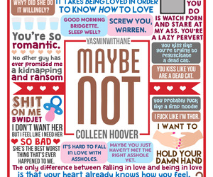 maybe not, book, and colleen hoover image
