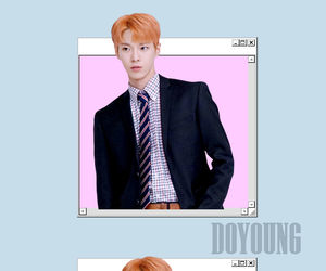 wallpaper, doyoung, and nct image
