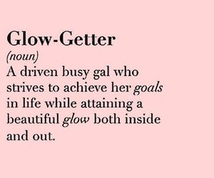 quote, beautiful, and glow image