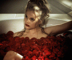 american beauty, 90s, and rose image