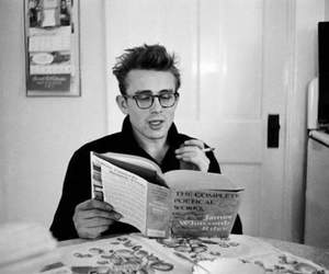 james dean, book, and black and white image
