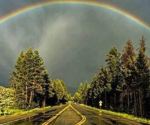 road, beautiful, and nature image