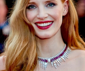actress, ginger, and jessica chastain image