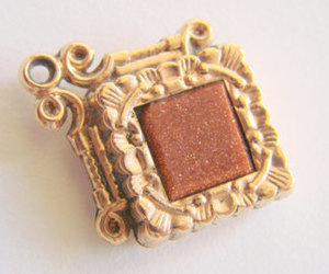 etsy, clearance sale, and vintage watch fob image