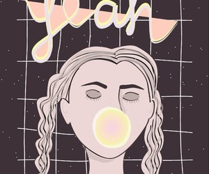 bubblegum, dots, and girl image