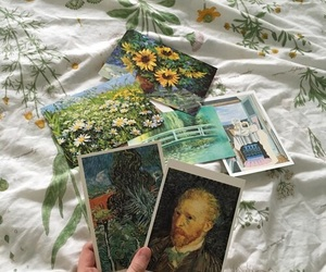 art, aesthetic, and flowers image