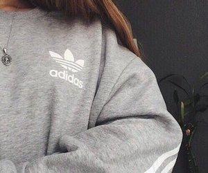 adidas, grey, and style image