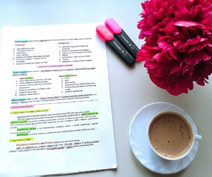 coffee, college, and exam image