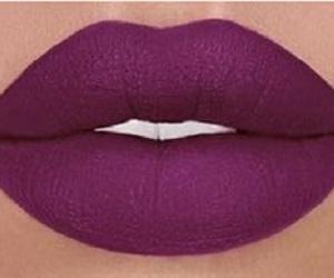 beauty, lip, and makeup image