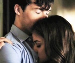 couple, lucy hale, and pretty little liars image
