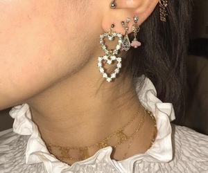 earrings, style, and fashion image