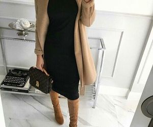 make up, trendy shoes, and outfits style image