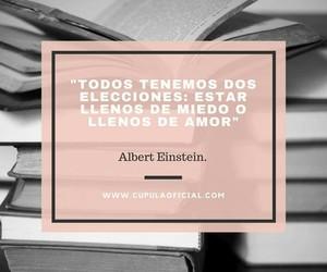 Albert Einstein, amor, and autoestima image