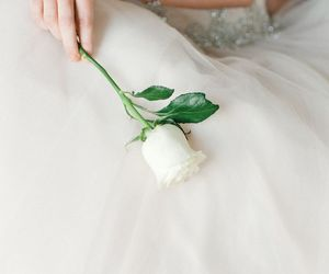 beautiful, bridal, and flowers image
