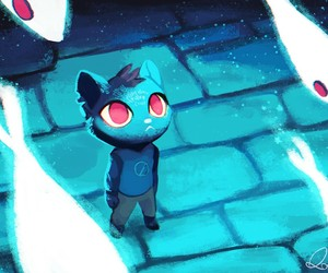mae, night in the woods, and night+in+the+woods+game image