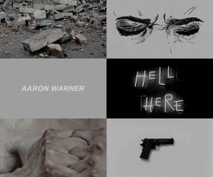 pretty, shatter me, and warnette image