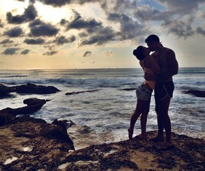 beautiful, sea, and love image