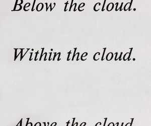book, cloud, and inspiration image