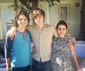 parenthood, mae whitman, and miles heizer image