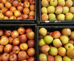 food, fruta, and verde image