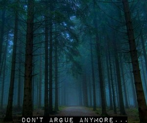 forest, promise, and quotes image