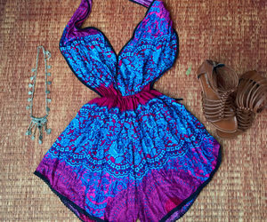 backless dress, halter top, and beachwear image