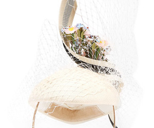philip treacy and flower hat image