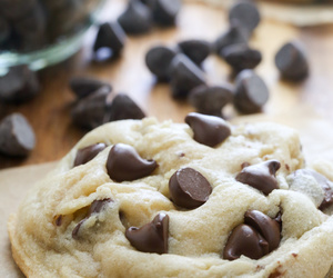 baking, dessert, and chocolate chips image