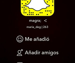 followers, snap, and seguidores image