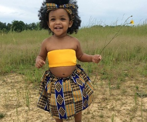 baby, cute, and African image