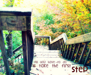 step and quote image