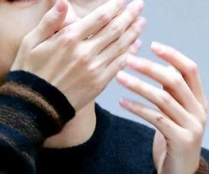 hands, v, and bts image