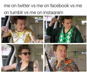 facebook, me, and tumblr image