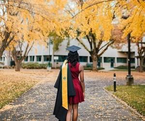 beauty, girl, and graduação image