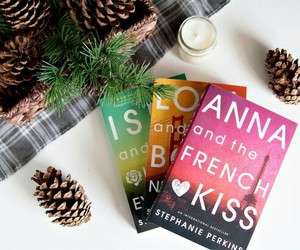 anna and the french kiss and stephanie perkins image