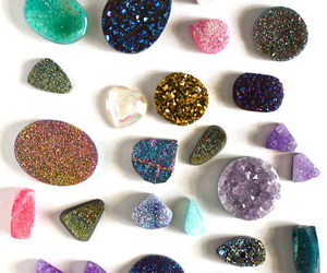 crystal, stone, and pretty image