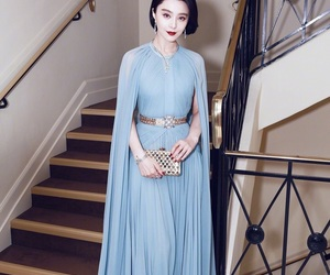 cannes, dress, and fan bingbing image