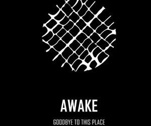 bts, jin, and awake image