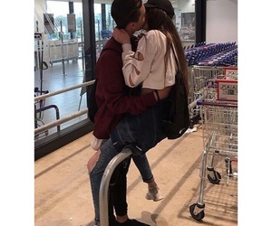 teen love, teens, and couple goals image