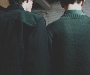 green, slytherin, and aesthetic image