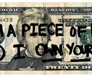 money, swet, and text image