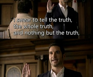 funny, lucifer, and tv show image