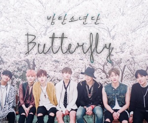 army, butterfly, and v image